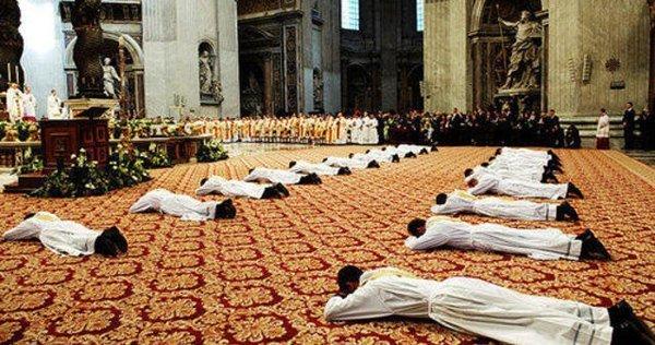 diocesi di roma, ordinazioni