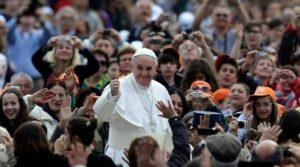 domenica delle palme, papa giovani