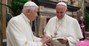 papa francesco, benedetto XVI