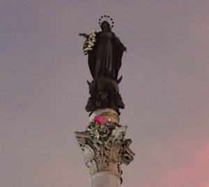 Statua Immacolata 300x268 - Almanacco Romano - Accadde oggi 8 dicembre