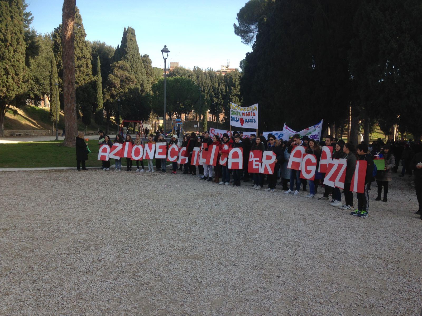 domenica della parola, carovana della pace, azione cattolica roma