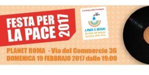festa per la pace 300x151 - Gr 'Pagine di Roma', 17 febbraio 2017