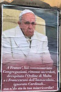 Manifesti contro il Papa 2