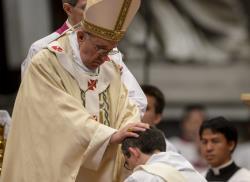 """Ordinazione - L'appello di Papa Francesco ai nuovi sacerdoti: """"Siate pastori del popolo di Dio"""""""