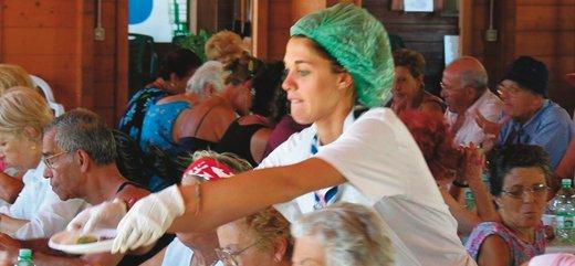 volontariato roma, volontari caritas