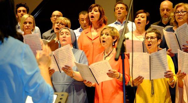 Festival Radiopiu cori parrocchiali