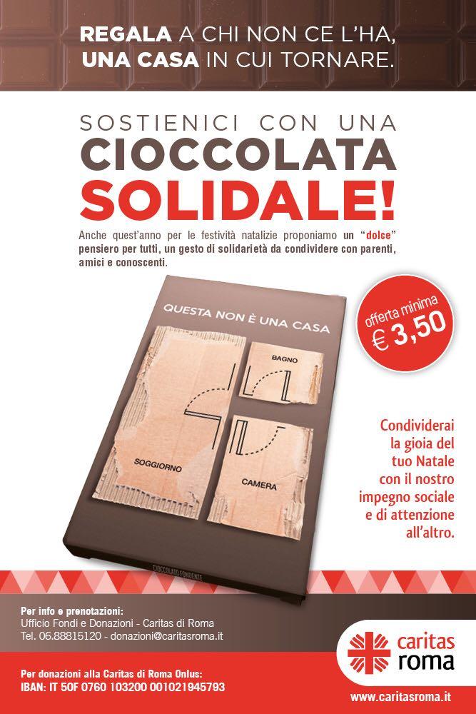 caritas cioccolata - Gr 'Pagine di Roma', 27 novembre