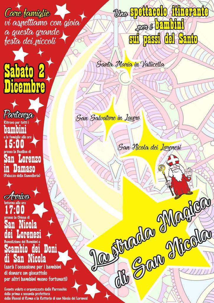 san nicola 1 - La strada magica di San Nicola nel centro storico di Roma