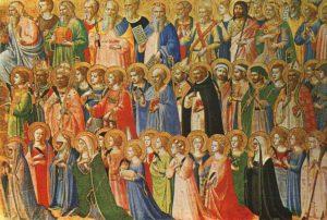tutti i santi 300x202 - Corso di formazione. Memorie e reliquie dei santi a Roma