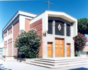 roma dragona, chiesa di santa maria dei martiri