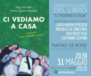 locandina de palo 300x251 - La famiglia con gioie e dolori protagonista dell'ultimo libro di De Palo e Gambini