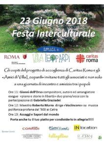 giornata mondiale del rifugiato 212x300 - Giornata mondiale del rifugiato: pranzo con i migranti a Termini e festa a Villa Leopardi