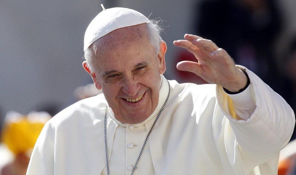 catacombe di priscilla, papa francesco
