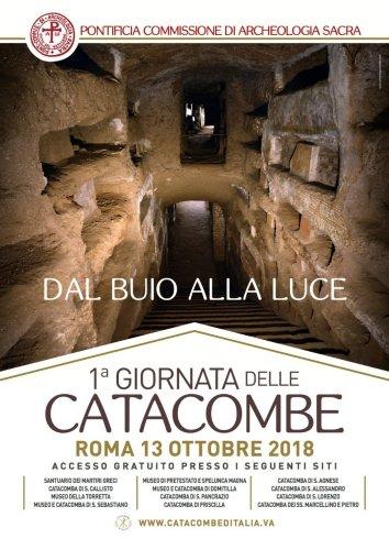 catacombe di roma 1 - Catacombe di Roma, il 13 ottobre la giornata per riscoprirle