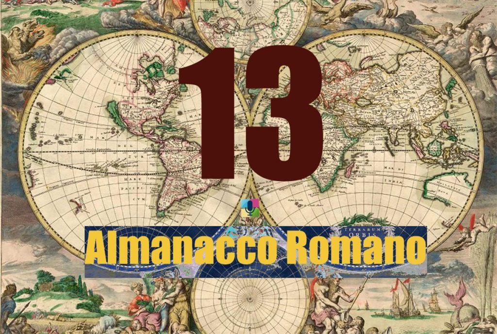 13 Almanacco Romano
