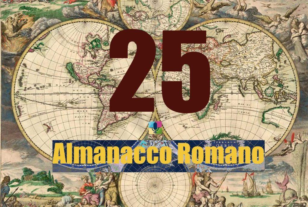 25 Almanacco Romano - radiopiu.eu