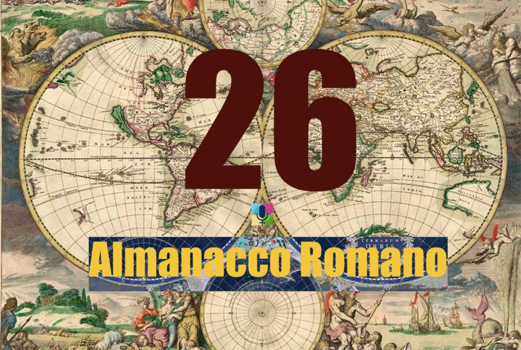 26 Almanacco Romano - radiopiu.eu