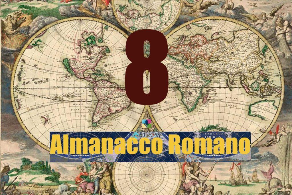 Almanacco Romano, almanacco romano 8