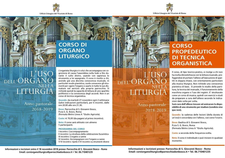 """organo liturgico - Organo liturgico: i nuovi corsi. Maestro Capitani: """"Così si scopre la bellezza"""""""