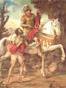 san martino di tours 227x300 - Almanacco Romano - Accadde oggi 11 novembre