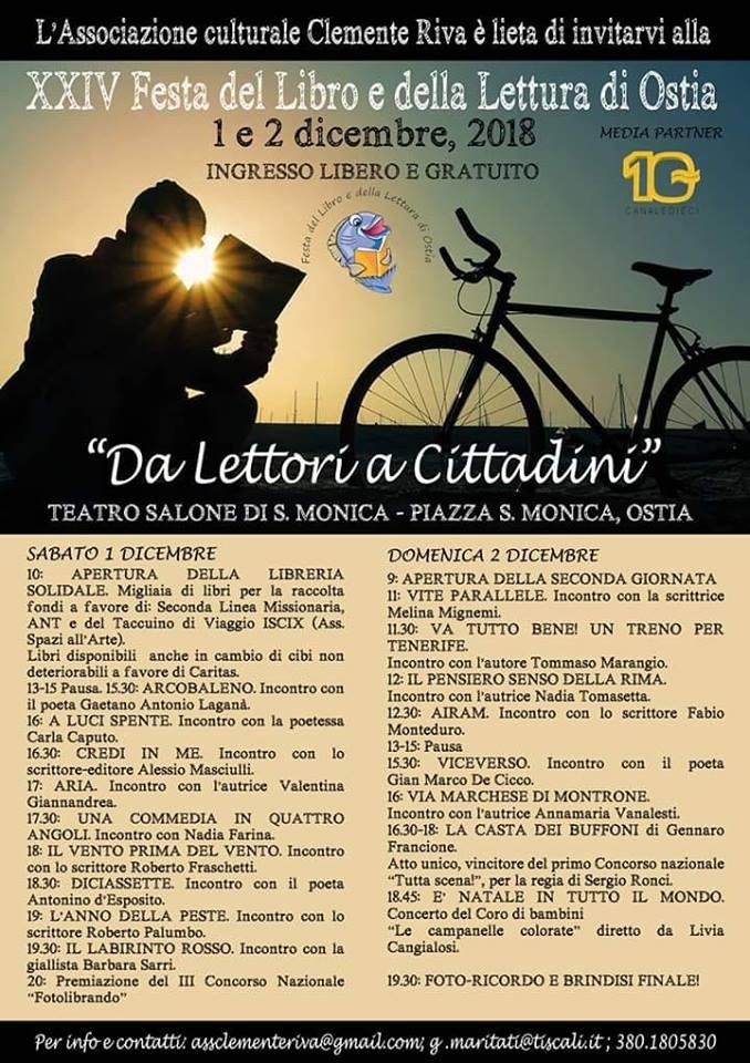 """46514512 10216226878498011 7594997257443737600 n - Festa del Libro a Ostia, Maritati: """"Sì alla cultura ma con impegno civile"""""""