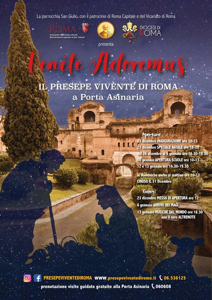 48355446 2236872993010212 4368457794207088640 n - Venite Adoremus, torna il presepe vivente di Roma - Intervista audio