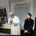 """IMG 3583 150x150 - Immacolata: l'omaggio del Papa e la visita al """"Messaggero"""""""