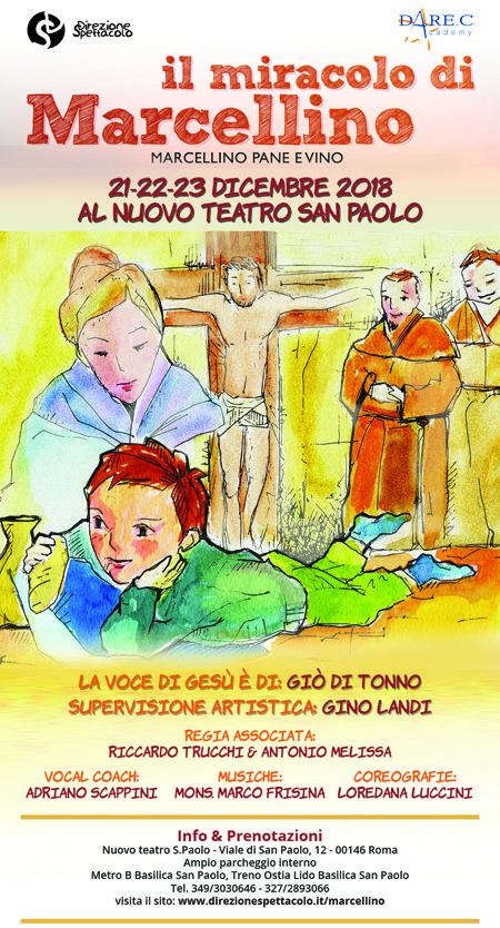 Il miracolo di Marcellino al nuovo teatro San Paolo di Roma 2