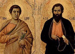 santi filippo e giacomo, radiopiu.eu