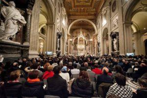 """annivrsario santegidio 300x199 - """"Siate strumenti di pace"""". L'augurio di De Donatis per i 51anni di Sant'Egidio"""