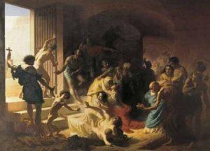 almanacco romano, santi primi martiri romani, radiopiu.eu