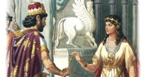 almanacco romano, santa ester, radiopiu.eu