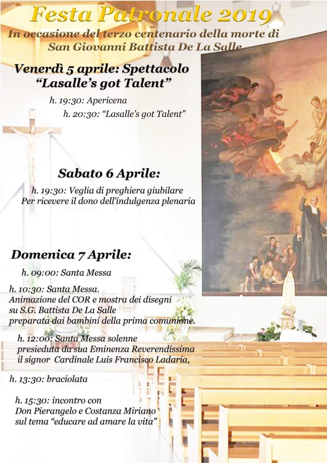 parrocchie di roma, san giovanni battista de la salle, www.radiopiu.eu