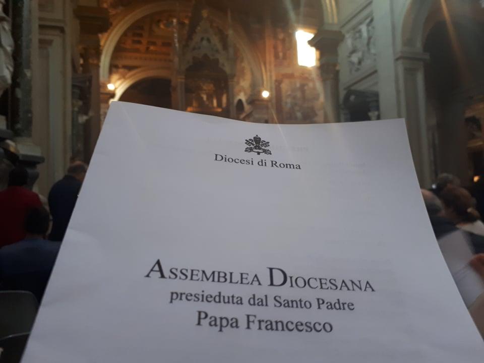 diocesi di roma, assemblea diocesana
