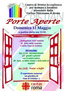 pagine di roma, caritas di roma, festa della mamma, casa di cristian