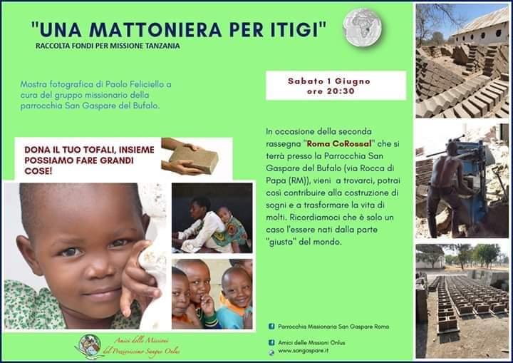 roma corossal, itigi, tanzania, san gaspare