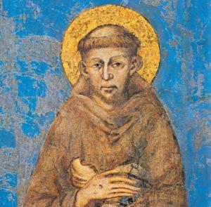 almanacco romano, san francesco