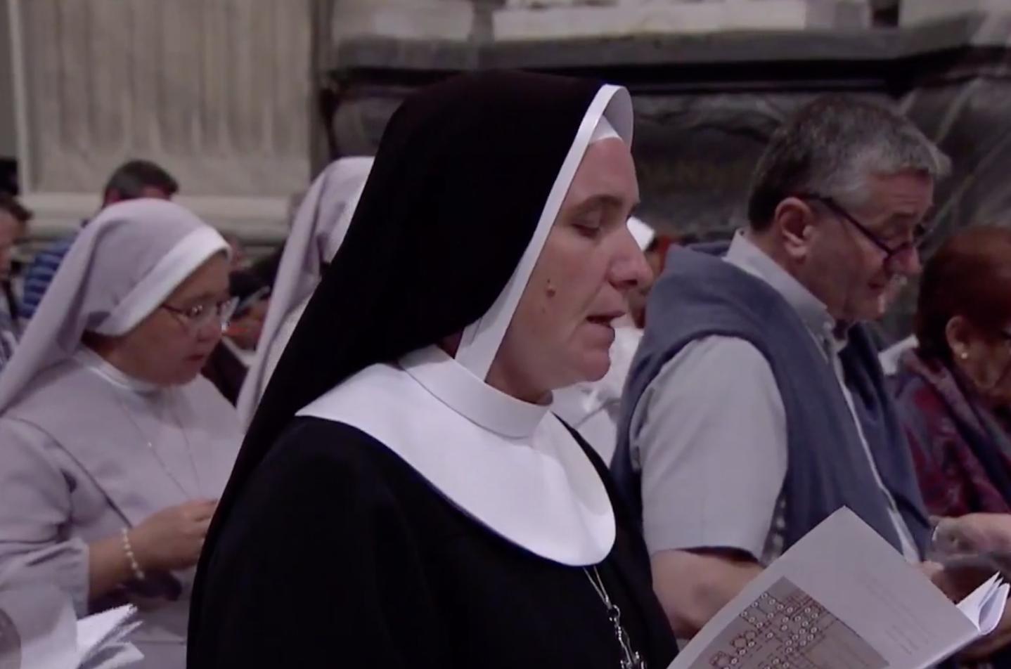 poveri e ammalati, diocesi di roma, suora