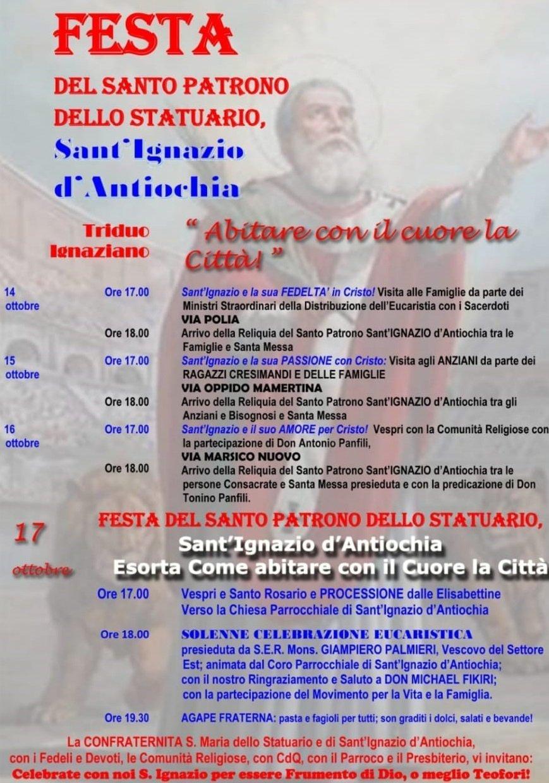 parrocchie di roma, sant'ignazio di antiochia