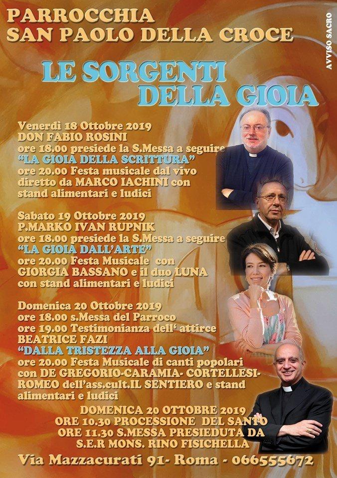 parrocchie di roma, san paolo della croce