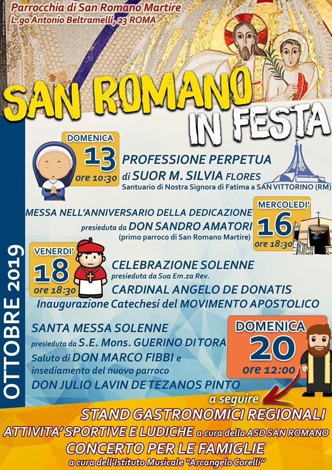 parrocchie di roma, san romano