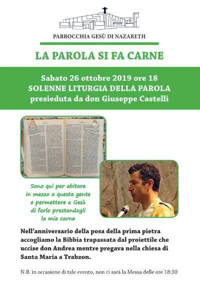 don andrea santoro, parrocchia gesù di nazareth