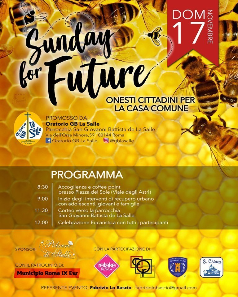 parrocchie di roma, sunday for future