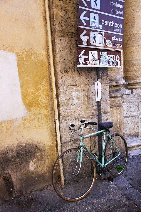ViaLibera, bicicletta, roma