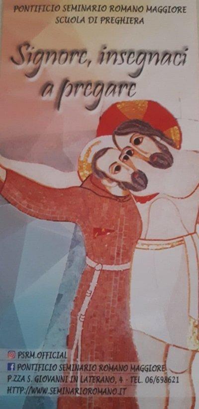 pagine di roma, pontificio seminario romano maggiore, scuola di preghiera