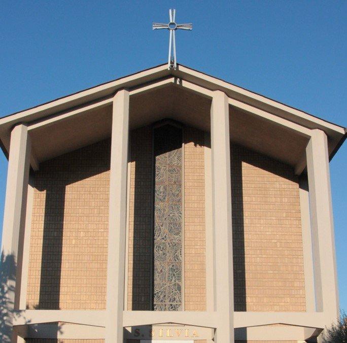parrocchie di roma, santa silvia