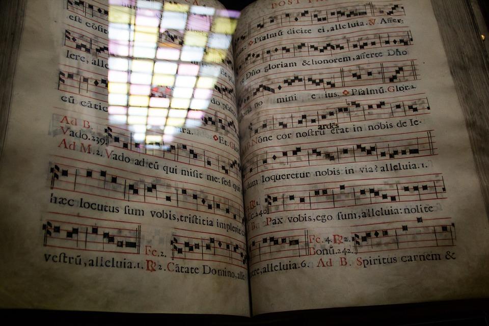 musica liturgica, cantate inni con arte