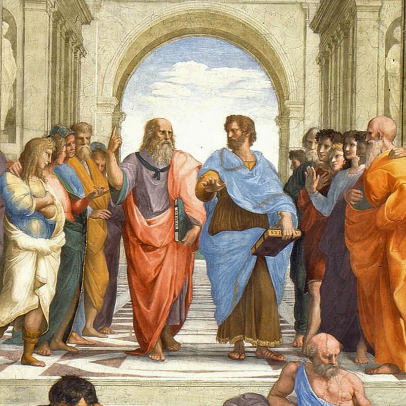 leonardo da vinci a roma, scuola di atene, raffaello