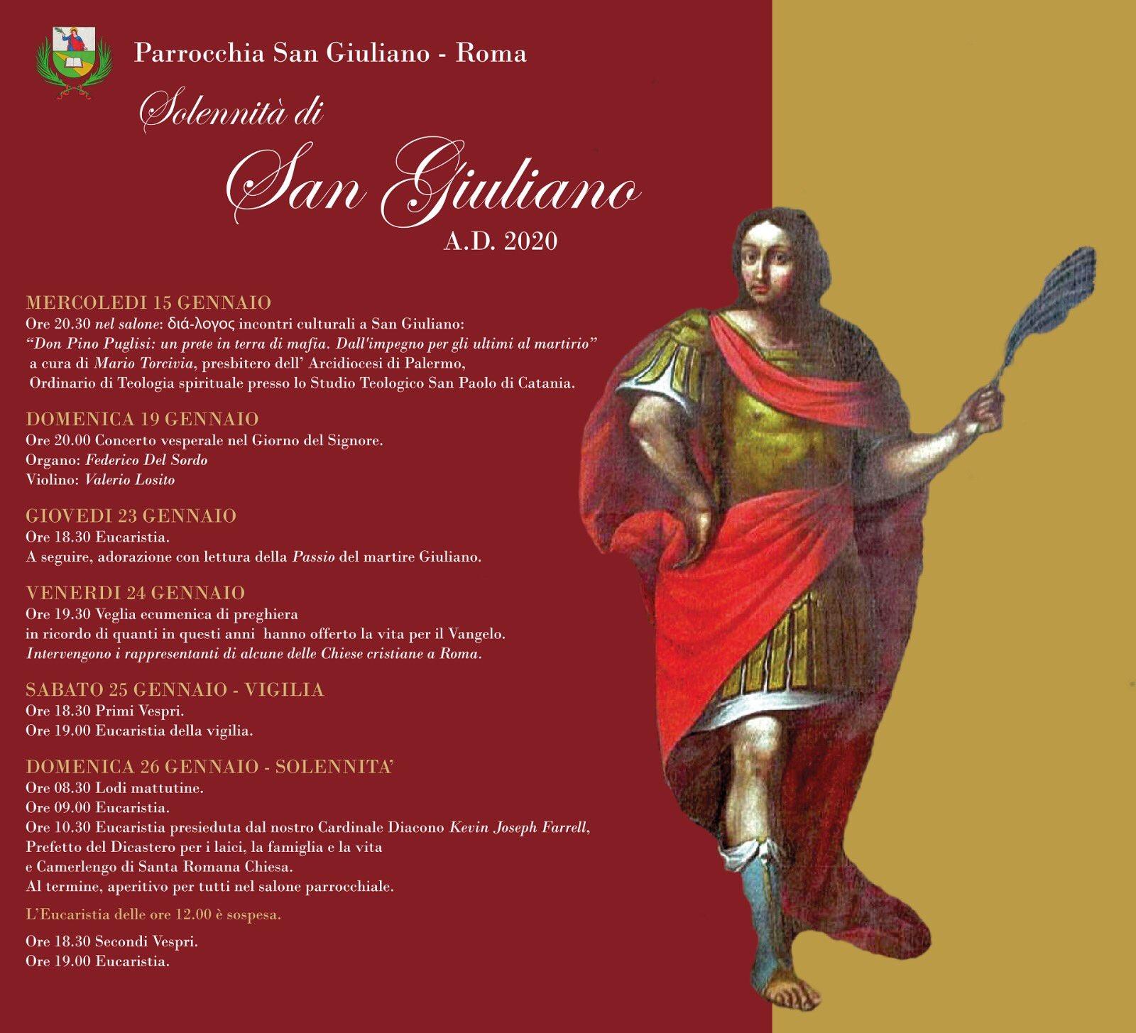 diocesi di roma, san giuliano