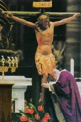 crocifisso miracoloso, san giovanni paolo II